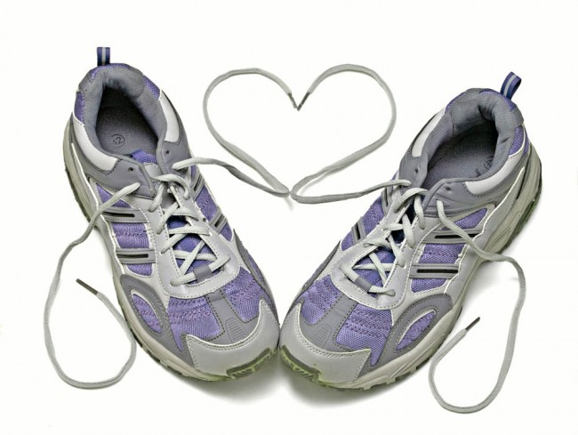 Running Shoes Heart