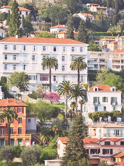 Grasse in Southern France