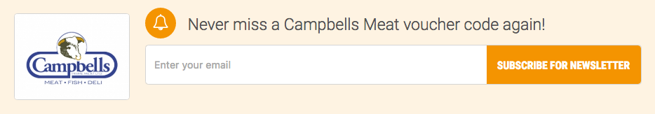 Campbells Meat voucher alert