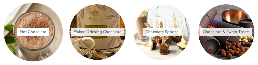Whittard hot chocolate range