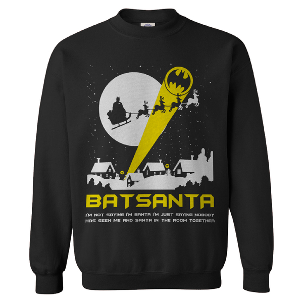 Batsanta Christmas jumper - IWOOT