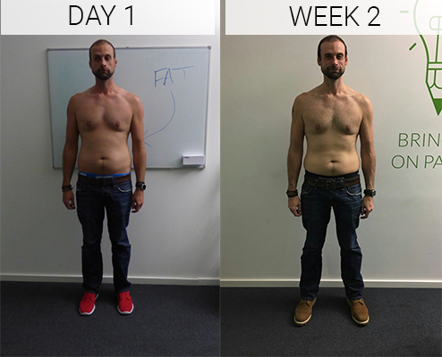 Dave week 0 to 2 - Myprotein challenge