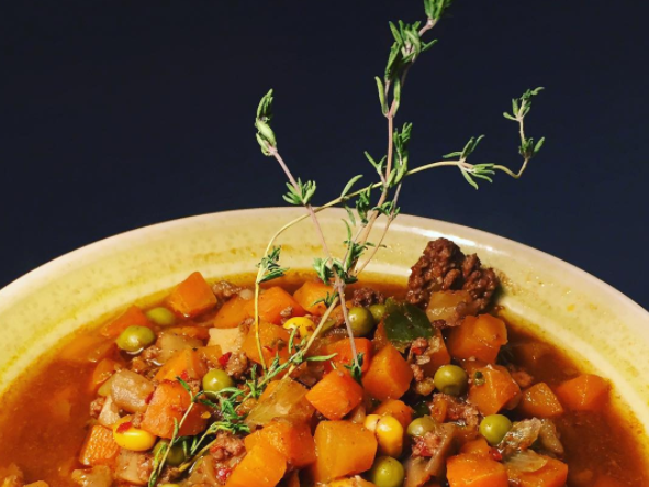 Vegetable beef soup_My Protein challenge