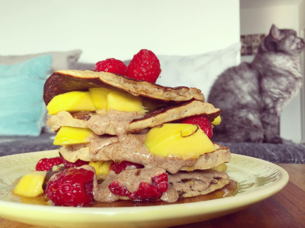 Peanut butter pancakes_My Protein challenge
