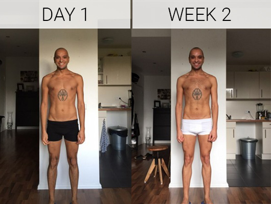 Sezer week 0 to 2 - Myprotein challenge