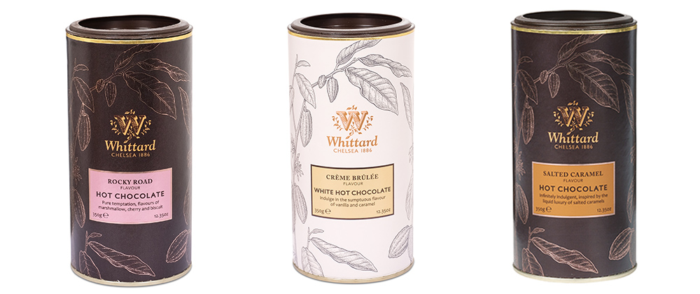Whittard competition - delicious hot chocolate flavours