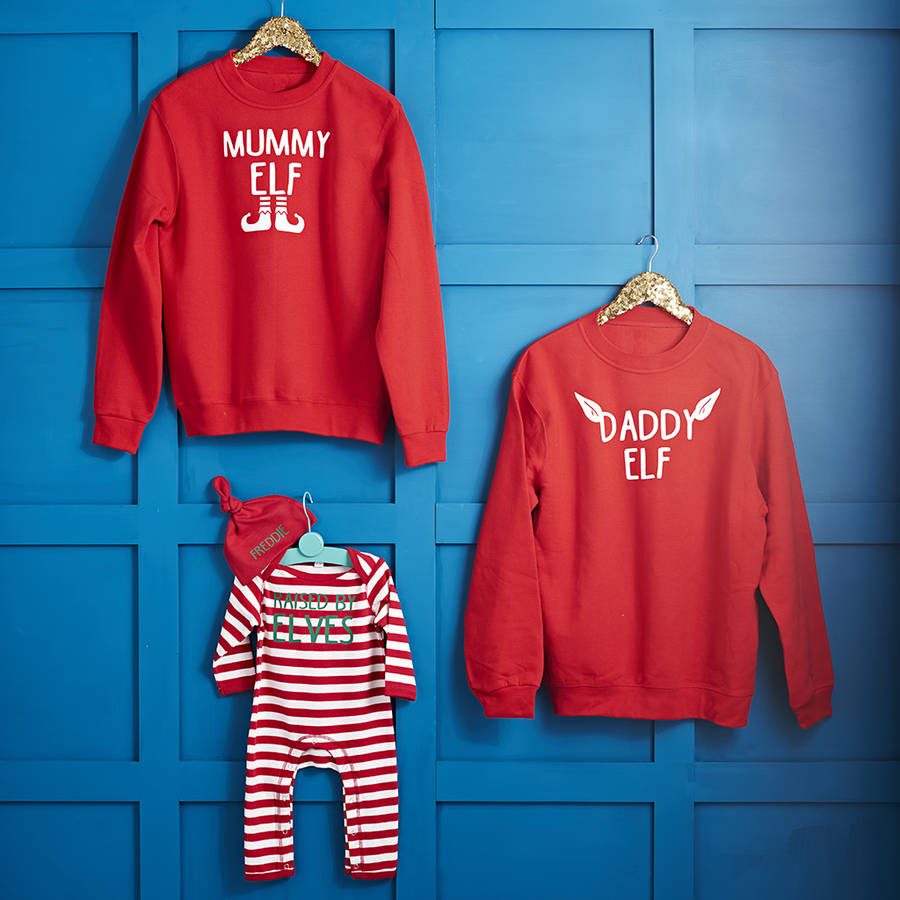 Elf Family Jumper Set, Not on the High Street