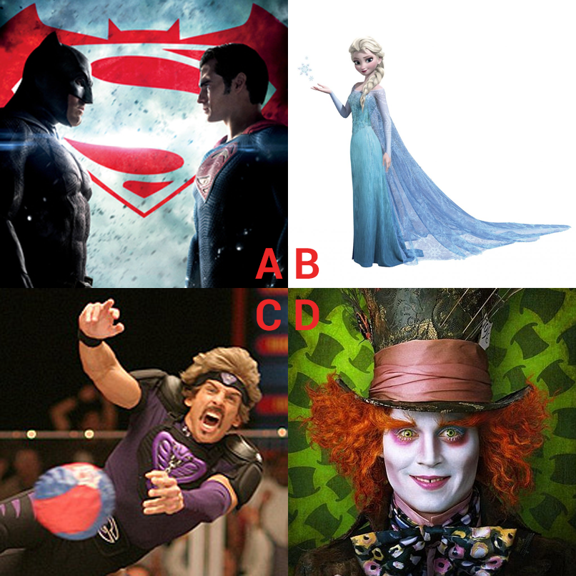Batman, Elsa, White Goodman or Mad Hatter? Who will Yoda be next?