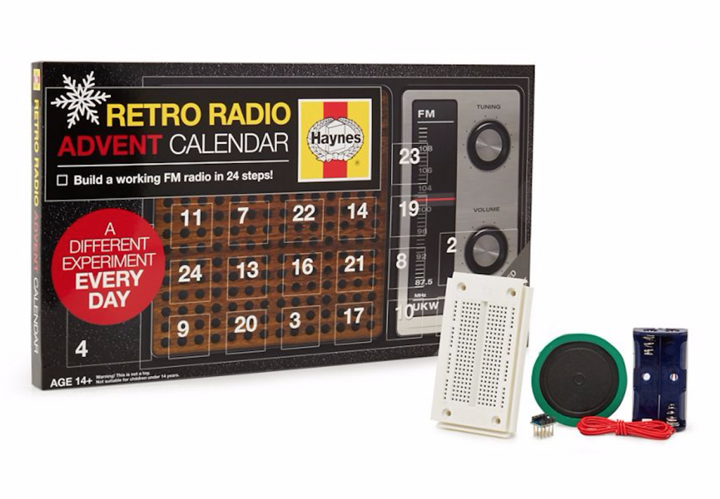 Retro Radio advent calendar
