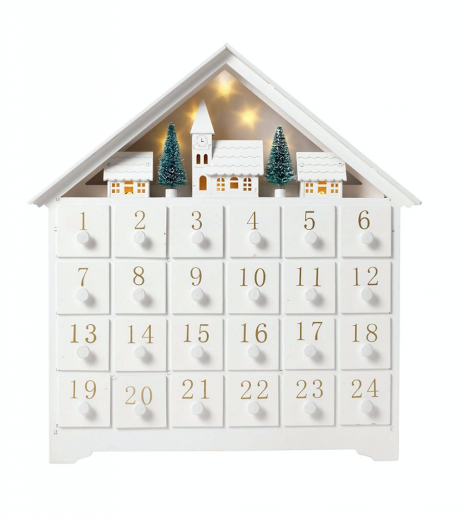 Linea Wooden advent calendar
