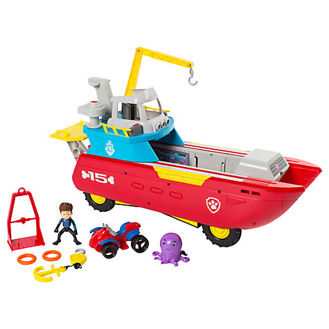 Top Toys for Christmas 2017 – Paw Patrol Sea Patroller