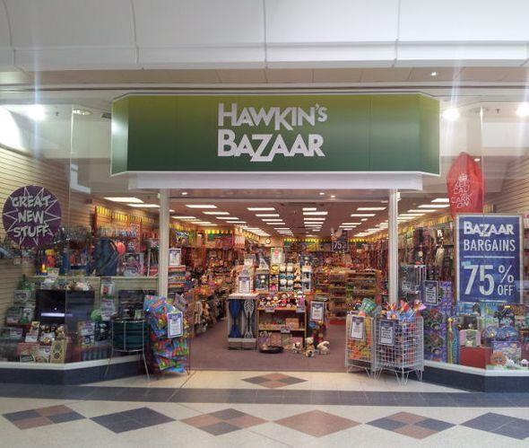 Hawkin's Bazaar Storefront
