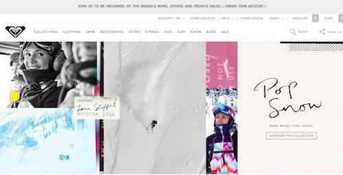 Roxy Website