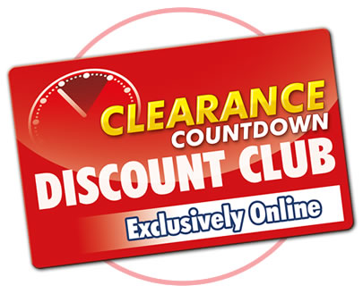 Clearance Countdown Discount Club