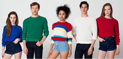 How to Redeem a Coupon Code at American Apparel. After adding your desired clothing and accessories to the online 'shopping bag,' you will redeem an American Apparel coupon code during the checkout process, which is illustrated below: Click 'Checkout' to start the process of completing your transaction.
