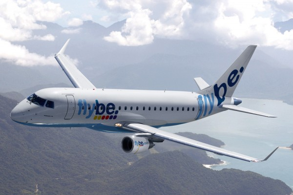 Flybe in Flight