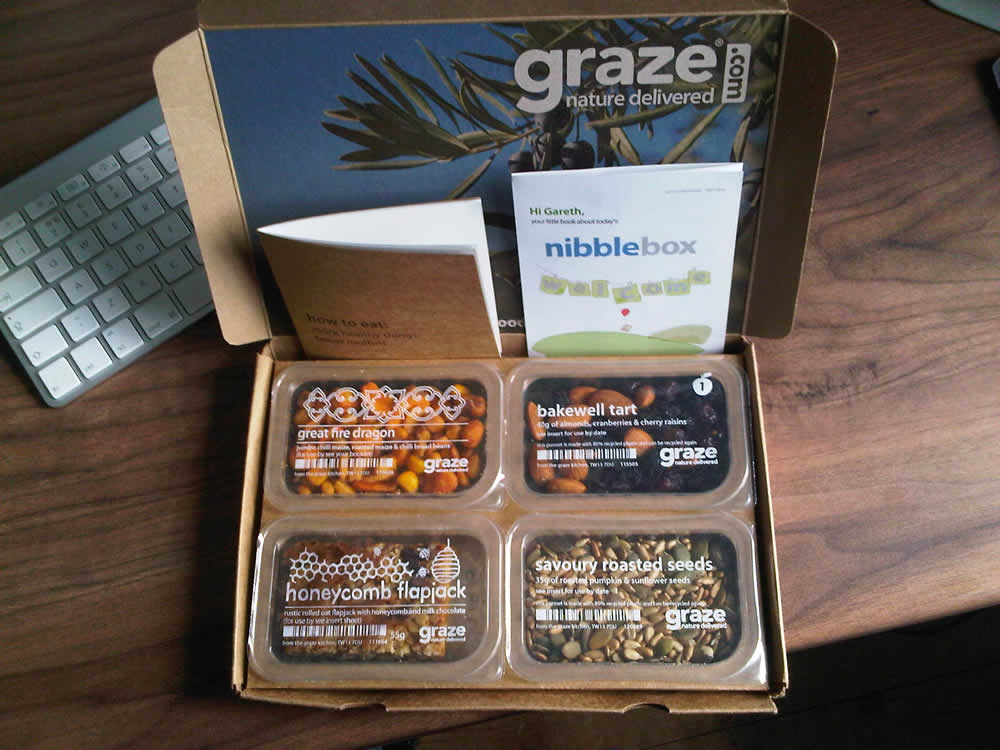 free Graze boxes coupons