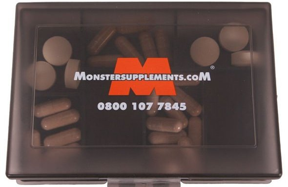 Monster Supplements Vitamins and Minerals