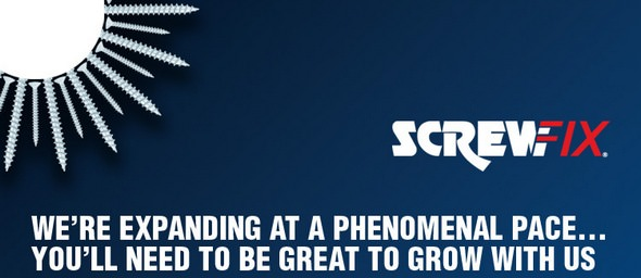Screwfix Expansion