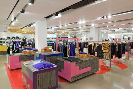 wide variety of products at every selfridges store