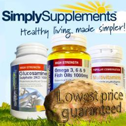 Simply Supplements Voucher & Promo Codes December Get all your minerals, vitamins and health supplements in one easy online shop at Simply Supplements. Keep your heart happy, your cholesterol calm and bloating at bay with over premium quality nutritional supplements on offer.