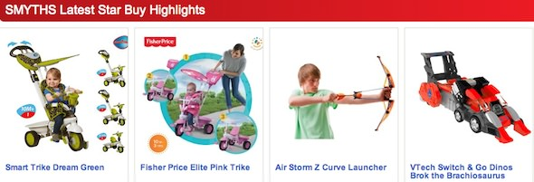 Smyths Toys Highlights
