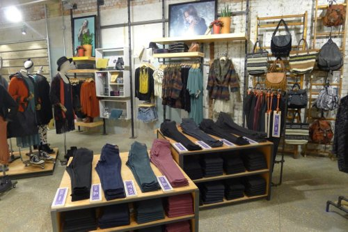 Clothing stores like urban outfitters