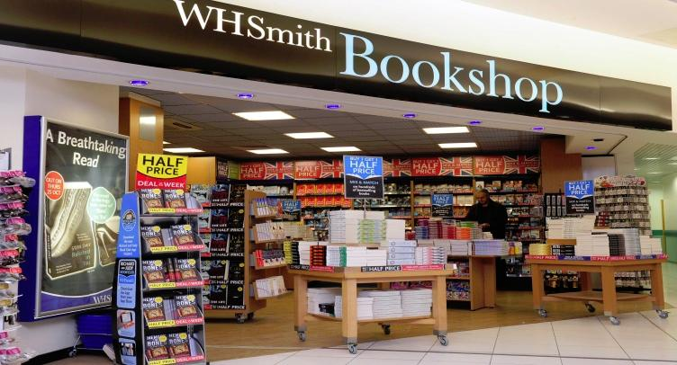 W h smith book shop