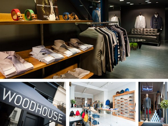 Woodhouse clothing store