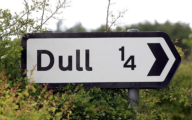 Dull Dull, Bland and Boring: The best named Twinned Towns in the UK