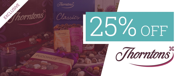 25% off at Thorntons