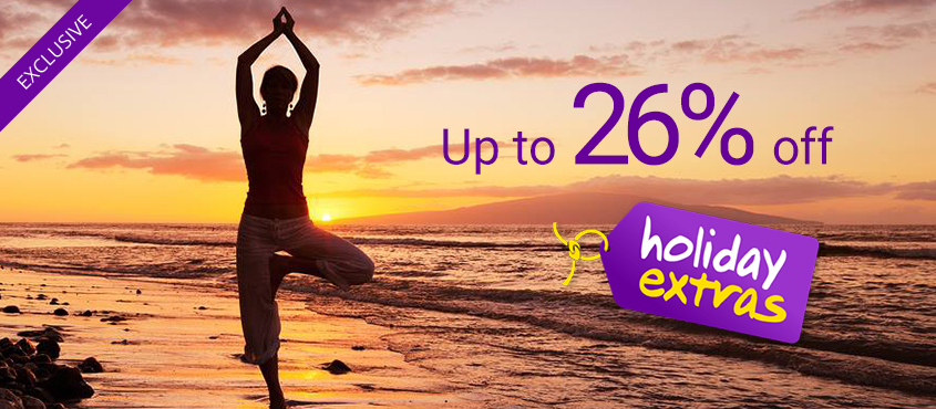 26 off Holiday Extras