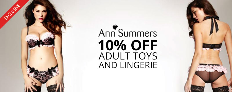 10% off at Ann Summers