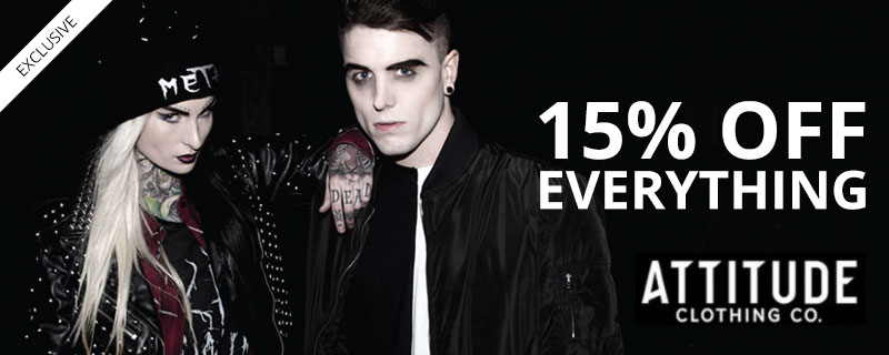 15% off at Attitude Clothing