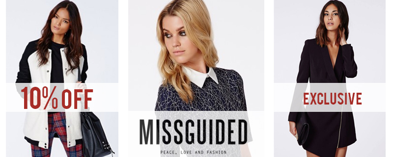 10% off at Missguided