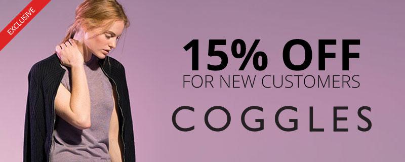 15% off at Coggles
