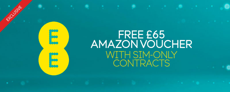 Free £50 Amazon Voucher at ee