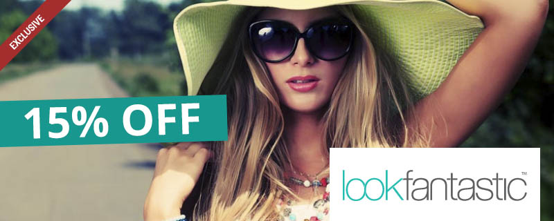 15% off at Look Fantastic