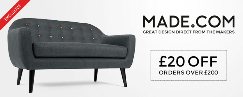 £20 off at Made.com