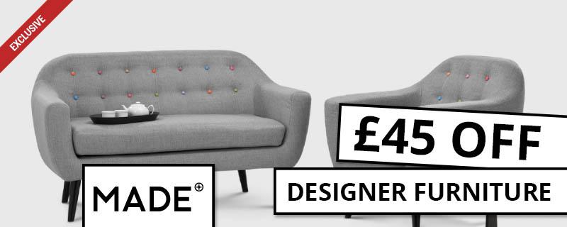 £45 off at Made.com