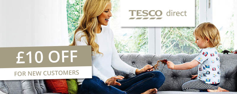 £10 off at Tesco Direct