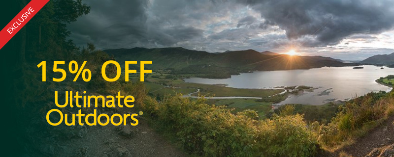 15% off at Ultimate Outdoors