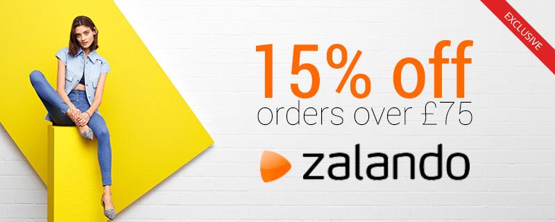 15% off at Zalando