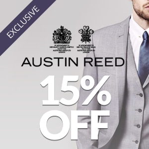 15% off at Austin Reed