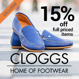 15% off Full Priced Cloggs Items