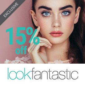 15 off look fantastic
