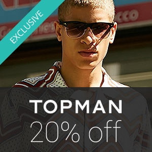 20% off at TOPMAN