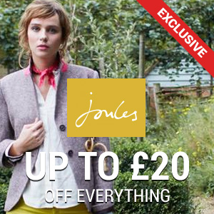 Up to £20 off at Joules