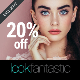 10 off Look Fantastic