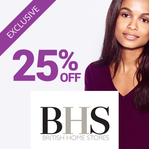 25% off at BHS